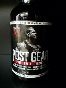 Details about Rich Piana 5% Nutrition POST GEAR Cycle Therapy PCT Support,  240 caps TEST BOOST
