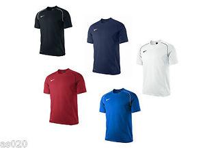 buy popular 1c1e2 d4304 Das Bild wird geladen Nike-Foundation-12-Herren-Kurzarm-Training-T-Shirt-