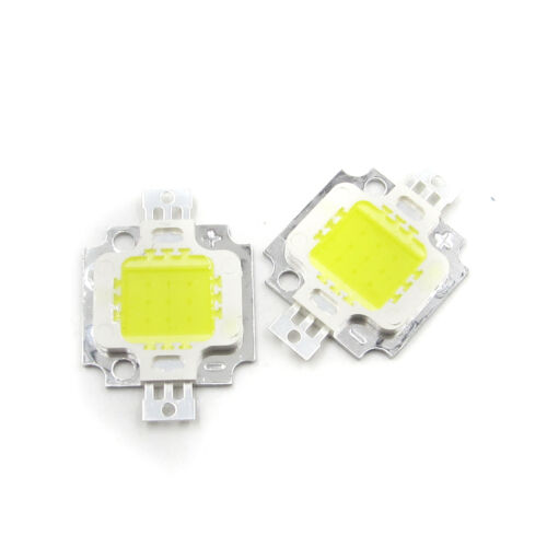 2PCS High Power Integrated SMD LED Chips Flood Light Bulb 10W White Senior New