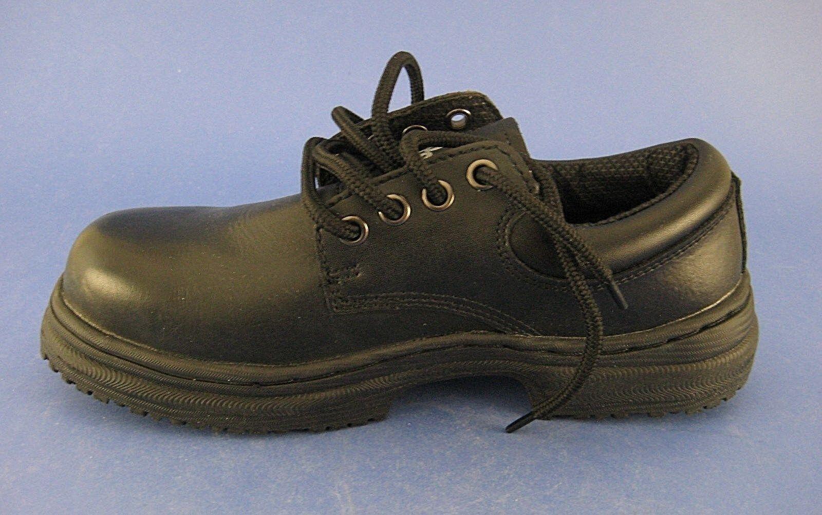 prezzi bassi di tutti i giorni donna Slip Grips nero Leather Work scarpe Dimensione 6 W W W  rivenditore di fitness