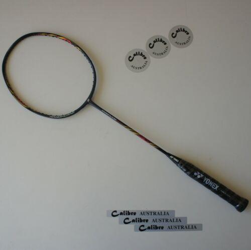 YONEX Nanoflare 800 Badminton Racket NF800 3U5 Black Choice of  String//Tension