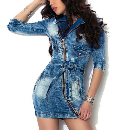 Di denim Abito a m Abito Abito tunica jeans in Abito Alina Jeans Blu Xs jeans di 40Z4twrq