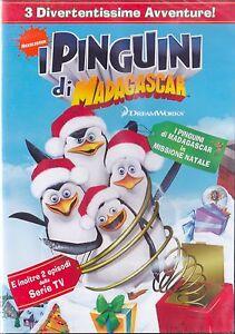 DVD-I-Pinguini-di-Madagascar-MISSIONE-NATALE-RARO-NUOVO-E-SIGILLATO-ITALIANO