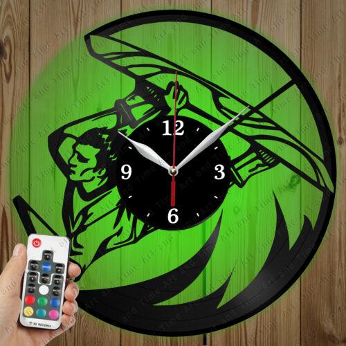 Details about  /LED Vinyl Clock Kiteboarding LED Wall Art Decor Clock Original Gift 7131