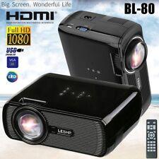 7000 Lumens HD 1080P LED Mini Portable Projector Multimedia Home Theater Cinema