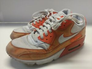 0995105b4af694 Nike Air Max 90 men s 10 orange white creamsicle home depot