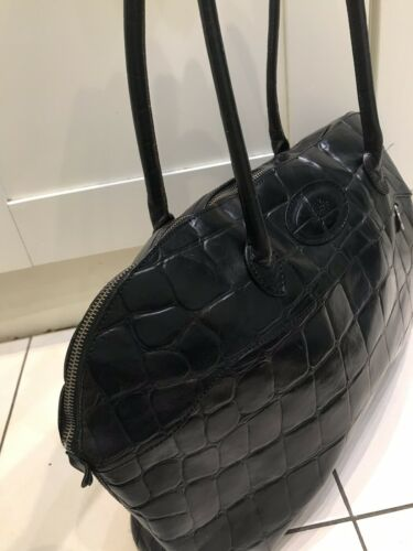 Print Mulberry Croc Stunning Leather Black Congo Handbag ZPE7OwxPq