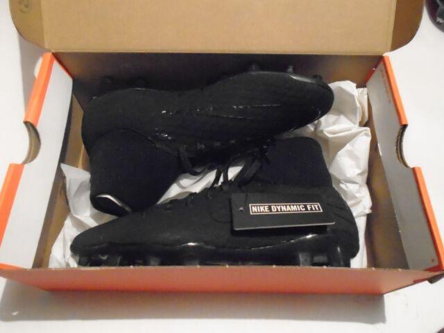 f71f6cc929345a NIB Nike Hypervenom Phelon 3 DF FG Soccer Cleats Triple Black 917764-001  Several