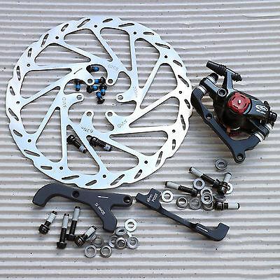 Avid Fahrrad Scheibenbremse BB7 MTB mechanisch graphitgrau Scheibe 160mm VR//HR