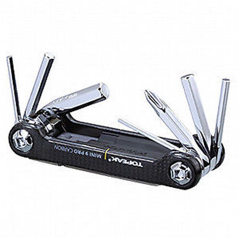 Topeak Mini 9 Pro CARBON Werkzeug Multi Tool Multifunktion ultraleicht CB karbon