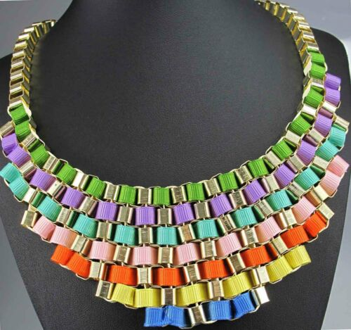 Design woman Statement charm Gold felled pendant chain coin necklace hot q101