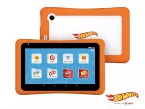 NABI 7 16GB HOT WHEELS Kids Learning Tablet età 3 e in alto