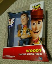 "New -  Toy Story 12"" Woody Talking Action Figure Doll Hat, Pull String"