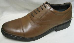 Cuero-Hombre-HUSH-PUPPIES-039-Rockford-Oxford-039-Marron-Cordones-zapato-Gran-Precio
