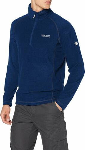 Mens Regatta Zip Up Micro Fleece Antipill Jacket Pullover Jumper Size Small