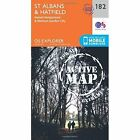St. Albans and Hatfield by Ordnance Survey (Sheet map, folded, 2015)