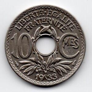 France-Frankrijk-10-Centime-1933