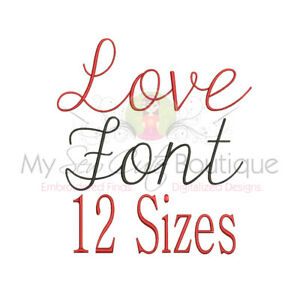 Image is loading LOVE-SCRIPT-ALPHABET-FONT-MACHINE-EMBROIDERY-DESIGNS-12-
