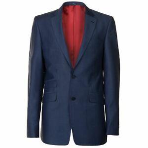 Jonathon-Charles-Da-Uomo-Mohair-Blazer-Giacca-cappotto-top-tasca-sul-petto
