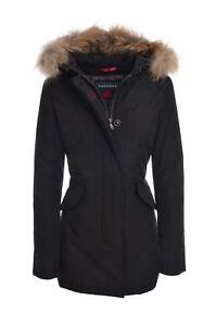 best service 49f20 630f5 Dettagli su CANADIAN Giubbotto Parka donna slim cappuccio con pelliccia  FUNDY BAY