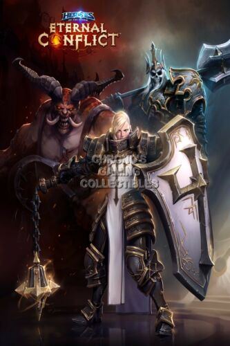 OTH302 Heroes of the Storm Eternal Conflict Art PC RGC Huge Poster
