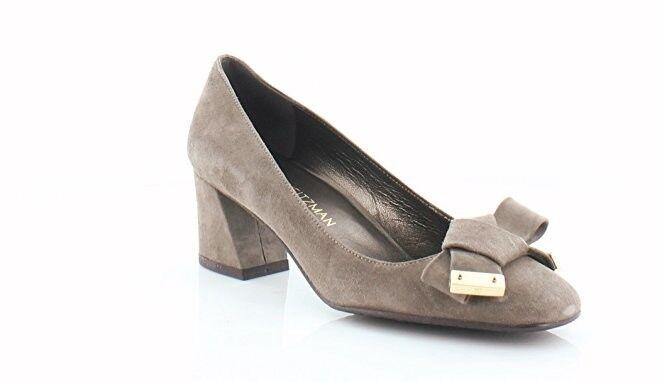 Stuart Weitzman shoes Suede 'boldfore' Block Heel Pump 10 M