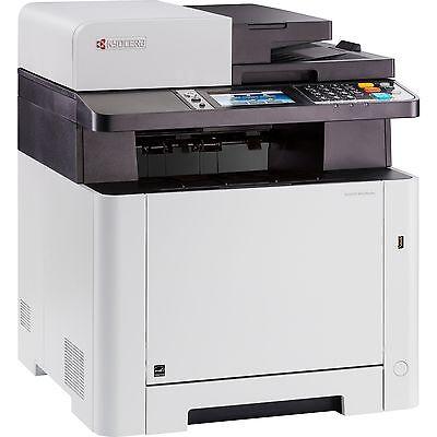 Kyocera ECOSYS M5526CDW, Multifunktionsdrucker, grau