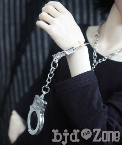 NEW 1//3 1//4 MSD BJD Accessories BJD Doll Mini Handcuffs Photo props