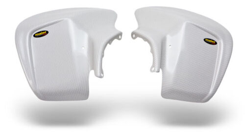 NEW HONDA TRX 450R 04-14 WHITE CARBON FIBER LOOK PLASTIC STANDARD FRONT FENDER