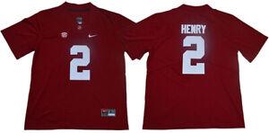 Details about Derrick Henry Jersey 2# Alabama Crimson Tide College Sewn Football Jersey