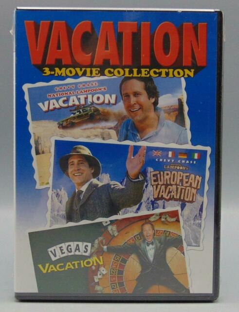 SEALED Vacation 3-Movie Collection National Lampoon (DVD
