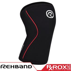 Rehband-RX-ligne-Genou-Soutien-7-mm-Rouge-froning-serie-Crossfit