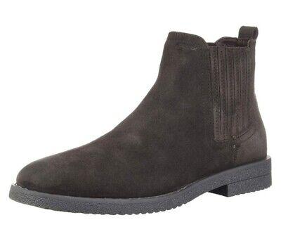 GEOX RESPIRA BRANDLED U943MA scarpe uomo polacchine inglesine mocassino camoscio | eBay