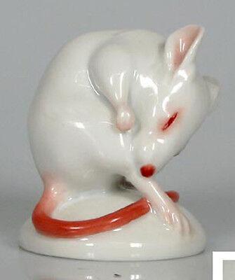 Maus figur figura figure porzellan porzellanfigur  augarten wien mice figura,22