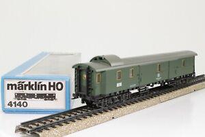 Marklin-4140-h0-D-Train-a-bagages-de-la-DB-dans-neuf-dans-sa-boite