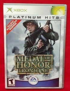 Medal of Honor Frontline - Microsoft Xbox Game Complete 1 Owner Near Mint Disc