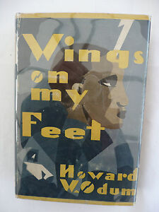 WINGS-ON-MY-FEET-by-Howard-W-Odum-First-Edition-Hardback-1929