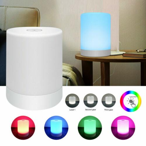 LED Nachttischlampe Touch Sensor Leseleuchte Dimmbar Tischlampe Sleep Light DJL