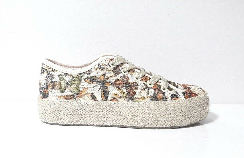 shoes SNEAKERS women LAURA BIAGIOTTI A750 BUT BROWN TESSUTO BEIGE brown 36 40
