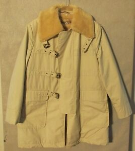 V6916 Catalina Martin Men s White Full Zip   Buckle Faux Fur Lined ... 67c71ac1d535f