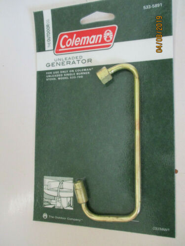 FOR USE ON MODEL 533-700 STOVE 533-5891 Coleman STOVE GENERATOR