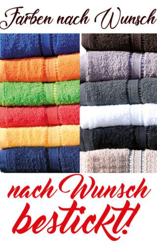 Dusch- Bade- Bester Papa Hand- Geschenk Saunatuch Farben nach Wunsch od