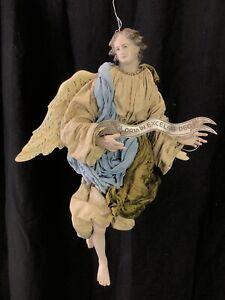 Angelo-Engel-Angel-30-Cm-Creche-Neapolitan-Krippen-Kunst-Presepe-Napoletano