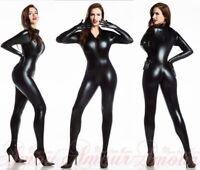 PVC Women Lingerie Teddie ClubWear Underwear Jumpsuit Catsuit Fancy Dress B7055