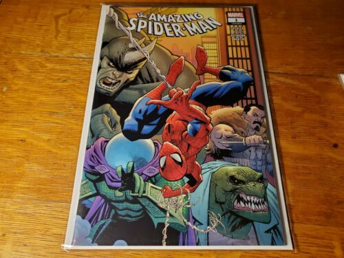 1st Kindred nm RYAN OTTLEY WRAPAROUND MAIN COVER AMAZING SPIDER-MAN #1