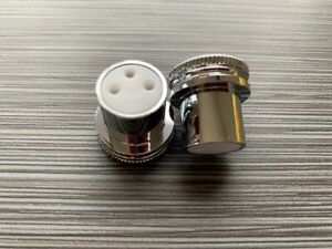 Details about Onewheel V1 Plus XR 2-New PREMIUM Silver Metal Charge Port  Covers Caps Plugs