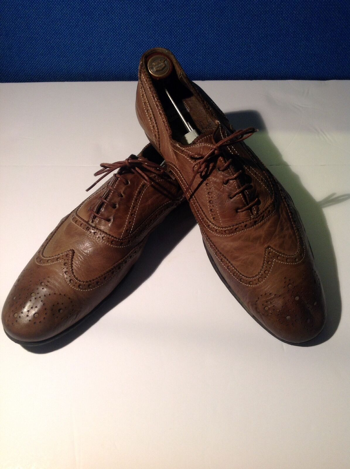 outlet Paul Smith Smith Smith - OLIVE colore SOFT SIDED BROGUES W EXAGGERATED BACK-Dimensione 44 11 EURO  più ordine