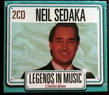 LEGENDS IN MUSIC COLLECTION - NEIL SEDAKA - 2 CD NEUF -