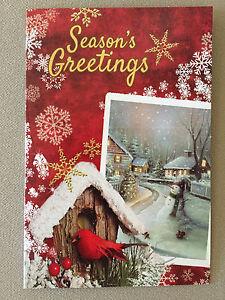 Seasons greetings christmas card by tri land corporation6 x 4 image is loading 034 season 039 s greetings 034 christmas card m4hsunfo