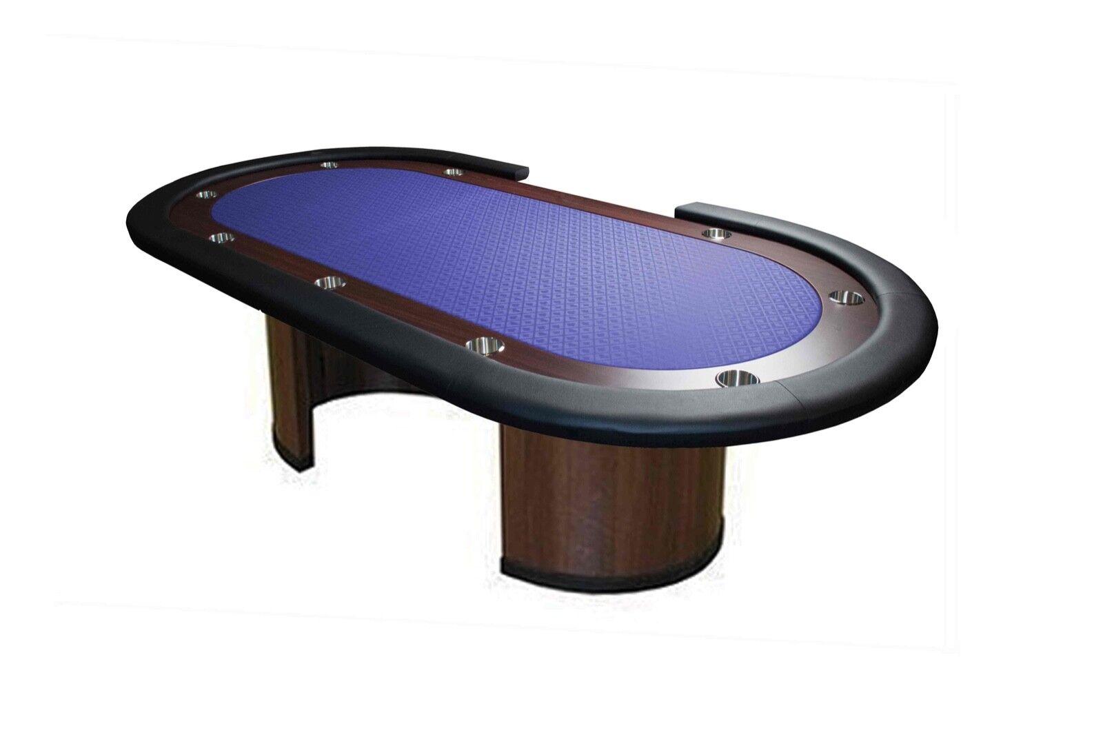 Mesa Tablero Poker Table 96  Crupier Azúl